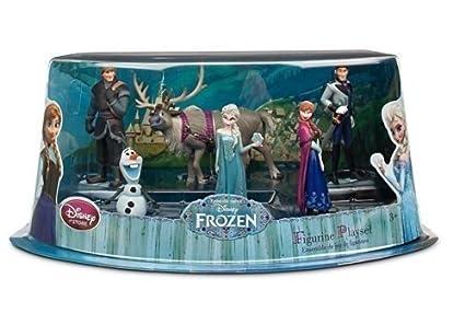 Amazoncom Disney Store Frozen Elsa Anna Olaf Kristoff Sven 6
