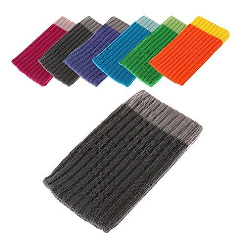 Bralexx ZS2125 Textil Socke (Größe: XL) für Apple iPhone 6 11,3 cm (4,7 Zoll) grau