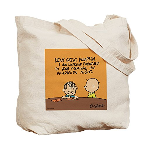 CafePress Tote Bag - Peanuts Snoopy Letter to the Great Pumpkin Tote Bag by CafePress