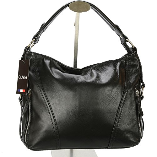 Women Tote To Black Light Brown Bag Olivia xg1wTZqZ