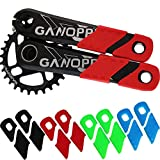 ganopper MTB Mountain Bike Crankset Caps Protector DH FR AM XC Rail Bicycle Crank Boots Dust Proof Cover