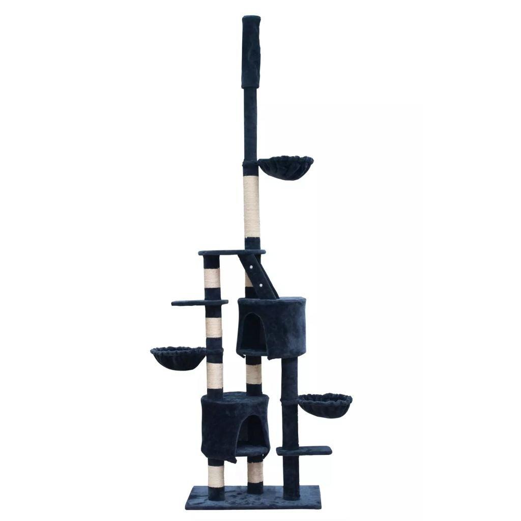 Binzhoueushopping tiragraffi per Gatti Gatti Gatti XL 230 – 260 cm colore Blu Scuro Felpa Palestra, Misura della casetta  35 x 26,5 cm 3ed249