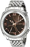 Vince Camuto Men's VC/1002DGSV The Veteran Multi-Function Dial Silver-Tone Bracelet Watch