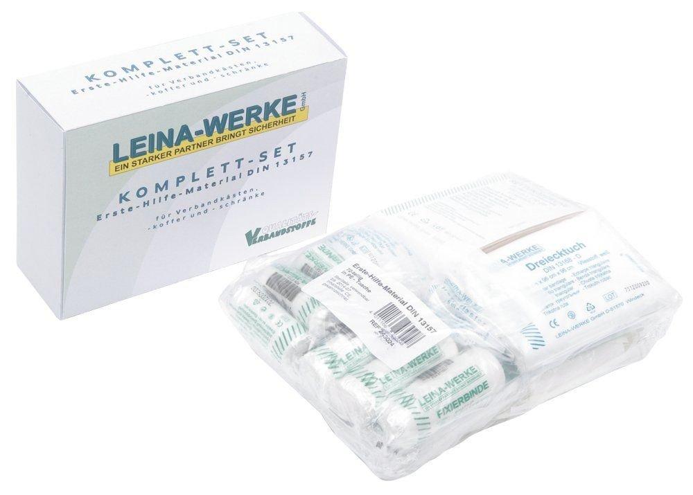 Leina 266 9281 - Repuesto para botiquí n de primeros auxilios (DIN 13157, 72 piezas) 243025