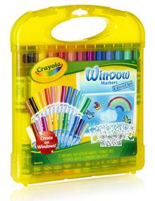 Crayola Window Markers Stencil Set
