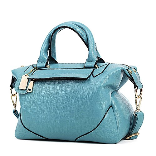 KaiSasi New Boston Header Layer Leather Women Portable Shoulder Messenger Bag - Boston Where Shop Outlets To In