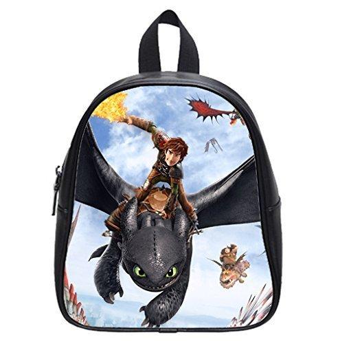 Best Gift How to Train Your Dragon Custom Kids School Backpack Bag(Large) Wonderful