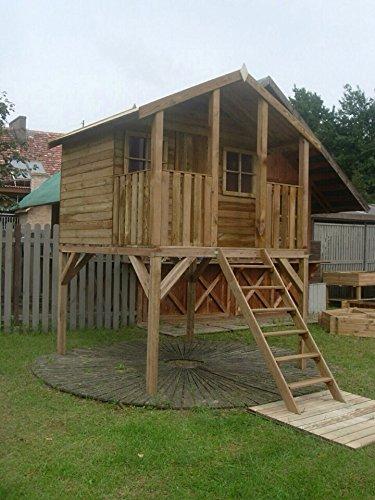 Kinderspielhaus mit Podest - Tobi -