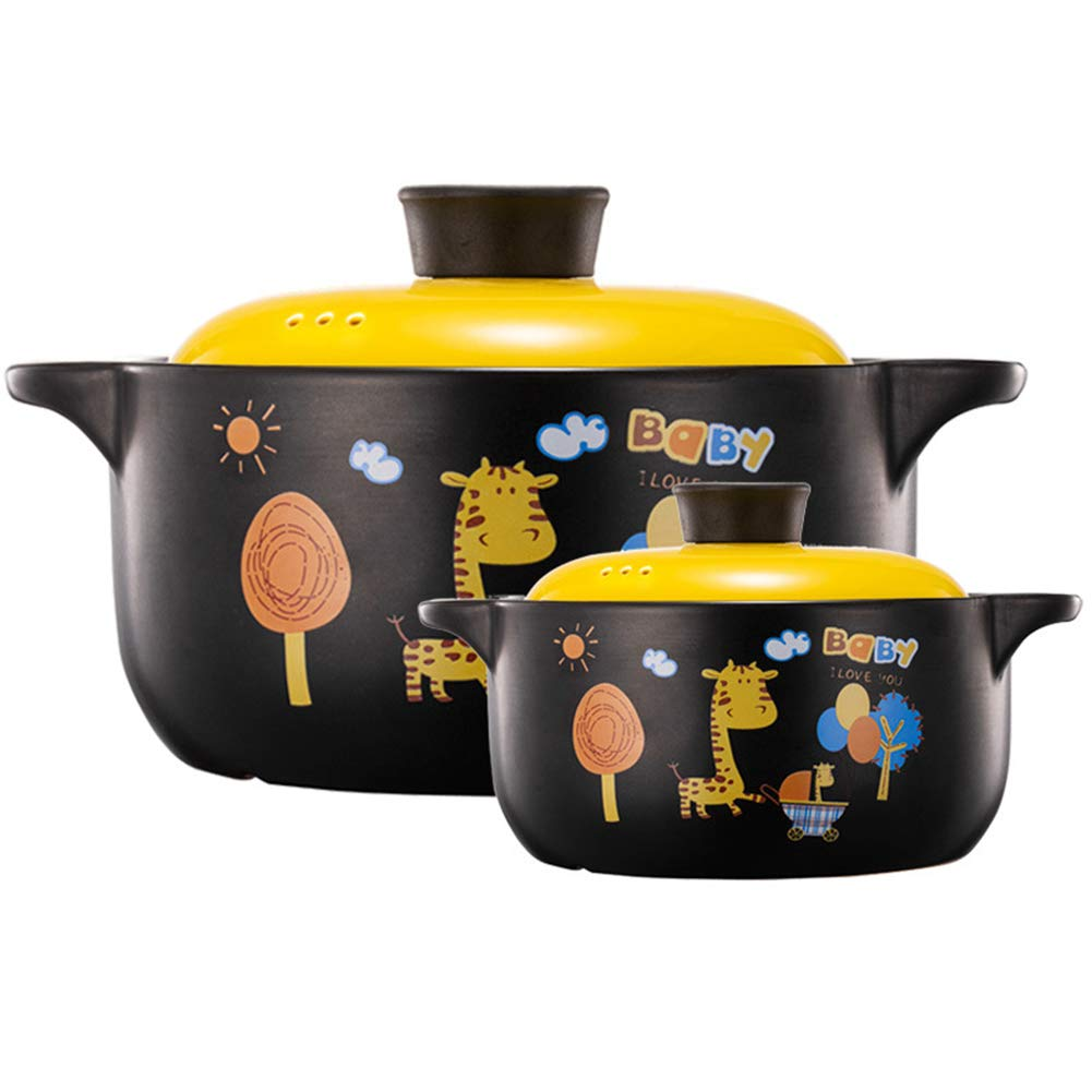 Enameled Cast Iron Dutch Oven, Suitable for all kinds of stoves, dishwasher safe, easy to clean Anti-fracture-4L1.5L