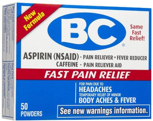 Bc Headache Powder Fever Reducer Powder Original Formula  50 Count