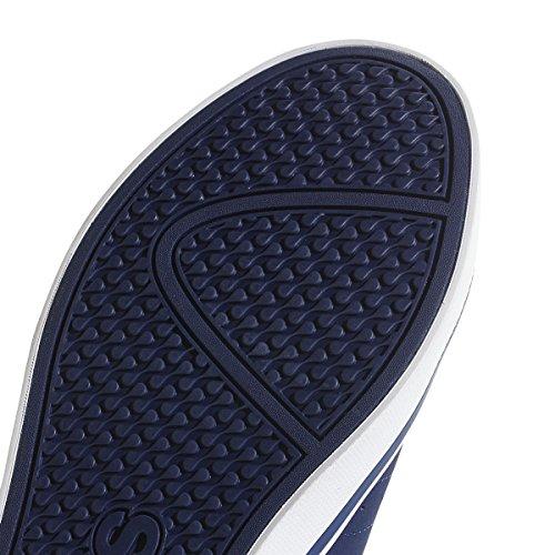 adidas Vs Pace–Men's Trainers, Men, VS Blue (Dark Blue/Silver Metallic/Shock Yellow 0)