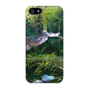 Awesome Design Beautiful Oriental Nymph Hard Case Cover For Iphone 5/5s