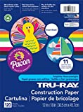 Creativity Street Pacon Tru-Ray Smart Stack Construction Paper 12''X18''-120 Sheets/Pkg; Assorted Colors