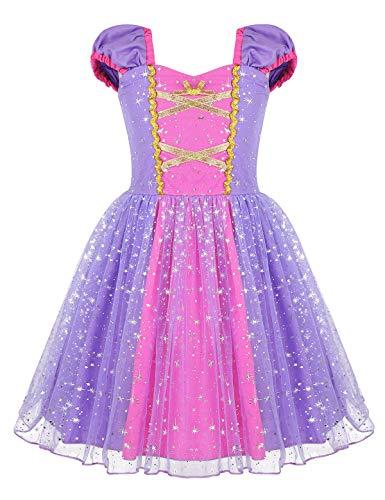 YiZYiF Disfraz Princesa Sofía Bebés Niñas Vestido Tutú ...