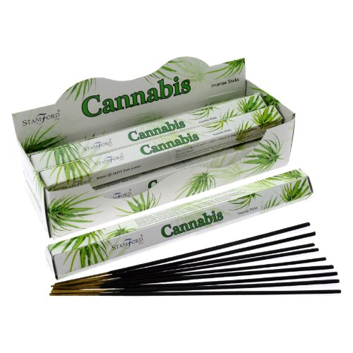 Stamford Premium Hex Range Incense Sticks - Cannabis ()