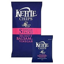 Kettle Chips Salt & Balsamic Vinegar 30g x 5 per pack 1 Kettle Chips Salt & Balsamic Vinegar 30g x 5 per pack Quantity: 1