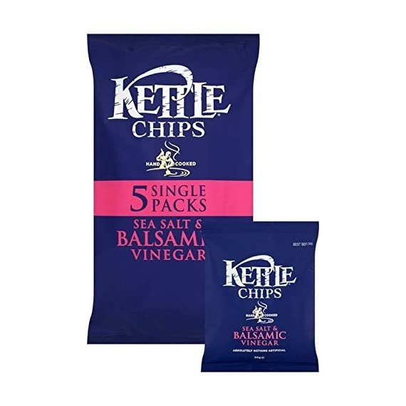 Kettle Chips Salt & Balsamic Vinegar 30g x 5 per pack 1