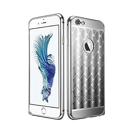 Cqm pour iPhone 6 6s Plus le nouvel Alliage d aluminium oxydation Cadre + 93c9fe00e12