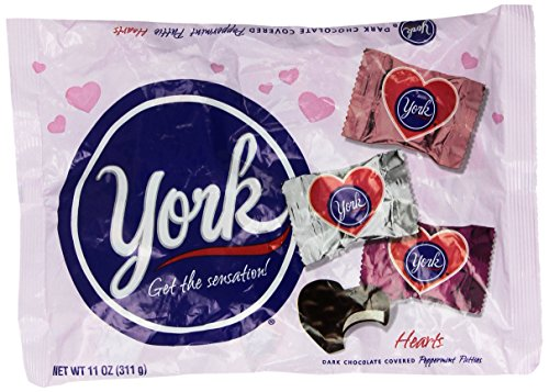 York Peppermint Hearts, 11-Ounce Bag (Peppermint Patties)