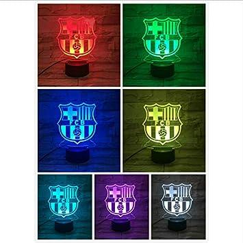 De 3d Fc Club Night Barcelone Led Football Light Illusion Ys753 TFJKc3ul1