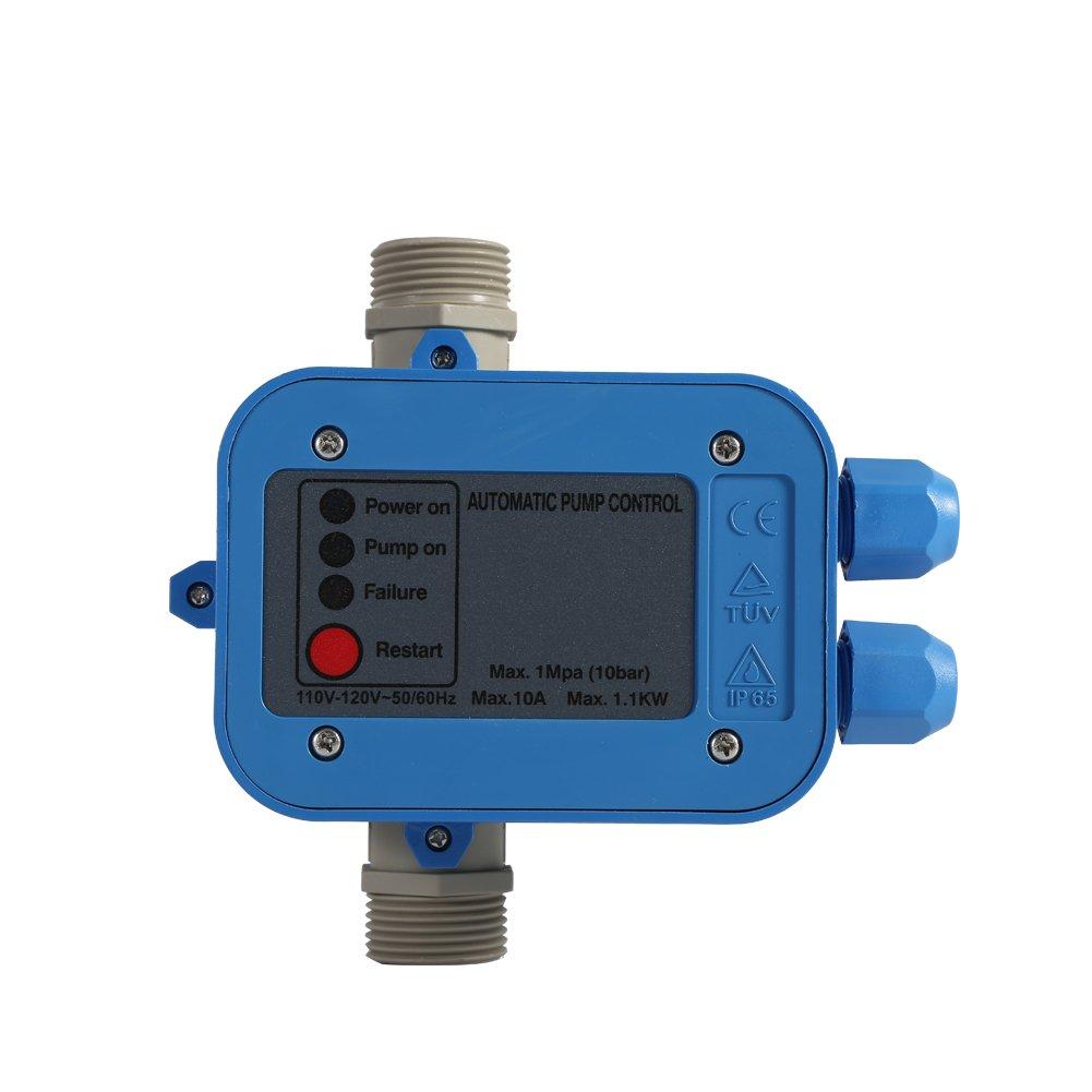 Water Pump Pressure Controller,Automatic Electric Electronic Switch Control Water Pump Pressure Controller 110V