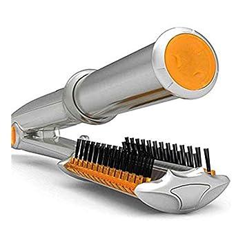 Rizador de pelo Cerámica Control de temperatura Rotación de hierro tenacillas y rizador de pelo: Amazon.es: Salud y cuidado personal