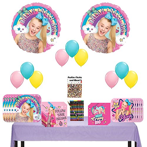 Jojo Siwa Party Supplies and Balloon Decoration Kit by Combined Brands