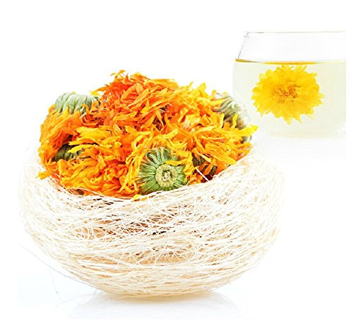 (Moyishi Calendula Flowers - Herbal Tea Marigold - 1 lb. Bulk)