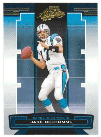 Jake Delhomme (Football Card) 2005 Playoff Absolute Memorabilia # (Jake Plays Ball)