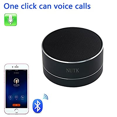 NUTK Bluetooth Speaker, MINI Desk Office Wireless Powerful Sound Portable Speaker with Radio function,USB and TF card port,Works for Ipad,Iphone,Samsung,Huawei and Other Music Players