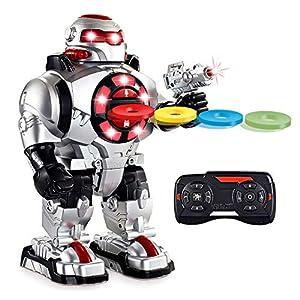 Think Gizmos TG542-VR RoboShooter Remote Control Robot