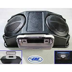 Extreme Metal Products EMP-10593 Cooter Brown Stereo With No Radio For Most UTVs With Tops