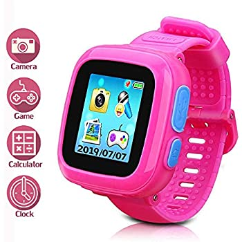 Amazon.com: Reloj inteligente para niños con cámara digital ...