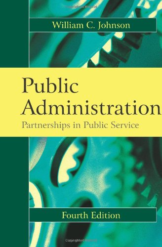 Public Administration: Partnerships in Public Service