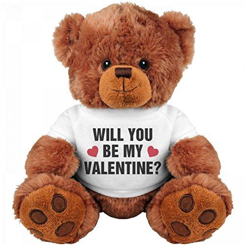 Be My Valentine Cute Gift Bear: Medium Teddy Bear Stuffed Animal