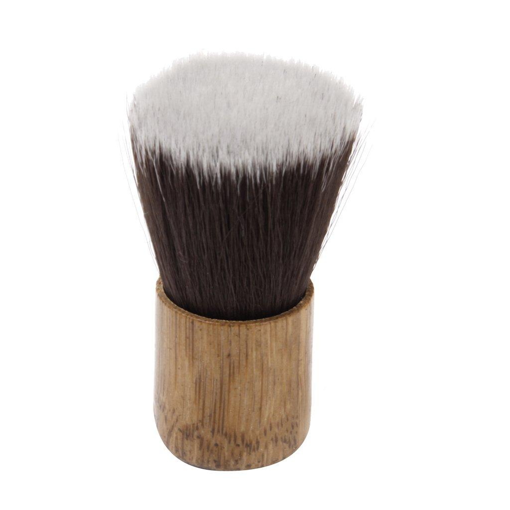 Multi-purpose Big Head Loose Powder Brush Blush Foundation Makeup Short Generic
