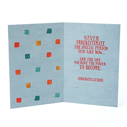 Hallmark Graduation Greeting Card (Never Underestimate) Photo #4