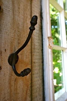 Antikas - gancho para un perchero de pared, gancho antiguo ...