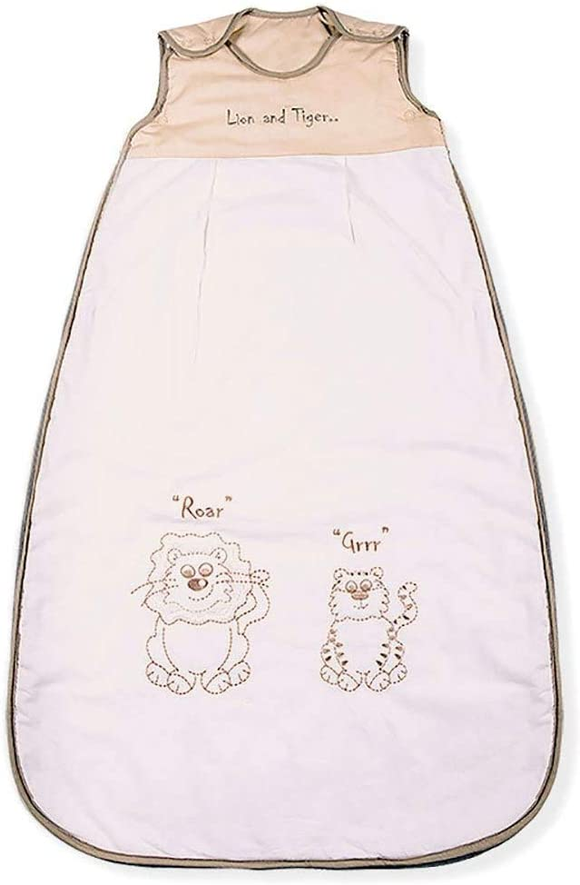 Kiddy Kaboosh Various Sizes Machine Washable 3.5 Tog Baby Sleeping Bag Size 3: 18-36 Months Perfect Presents Lion /& Tiger Cosy /& Safe Winter Weight
