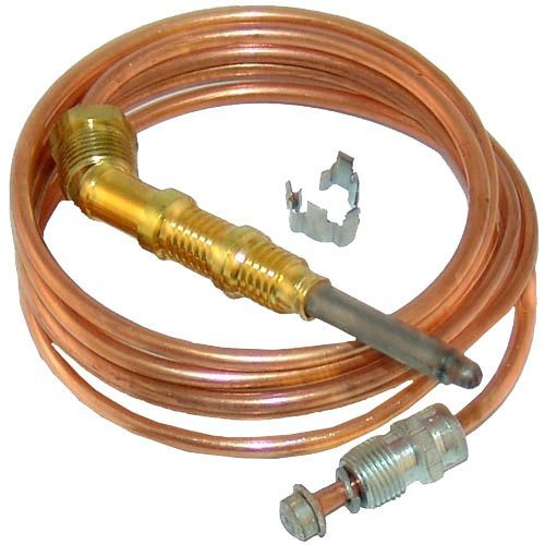 All Points 51-1311 1900 Series Heavy Duty Coaxial Thermocouple - 48''