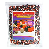 Big Mo's Toys Floral Halloween Pearl Water Beads - Orange Purple Black and White Halloween Gel Balls for Vase Or Candle Fillers for Centerpiece
