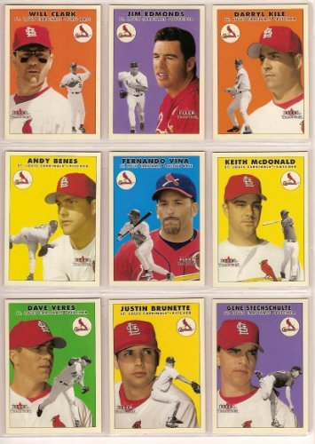 St Louis Cardinals 2000 Fleer Tradition Baseball Update Team Set ()