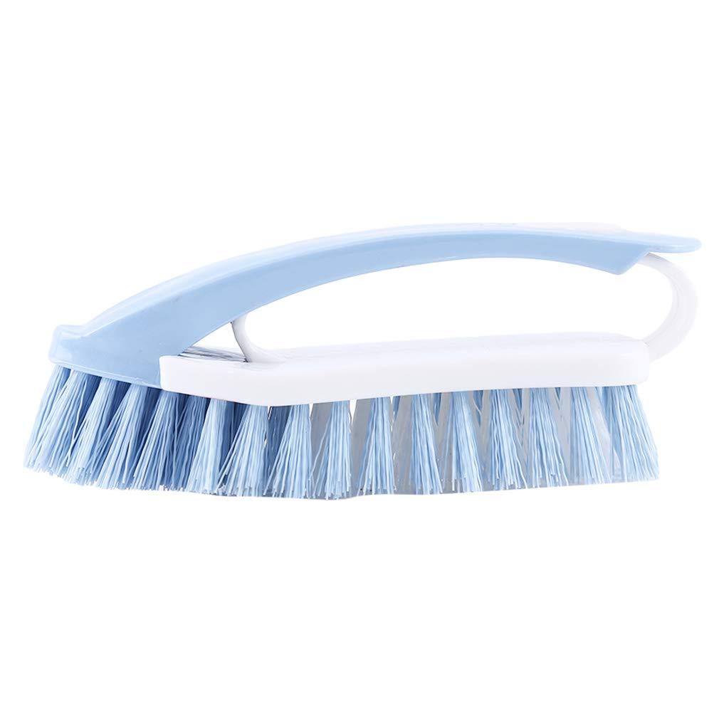 Herramienta de Limpieza de ba/ño L/_shop Cepillo Multiusos 2 en 1 para Limpieza de Pelo Suave y pl/ástico