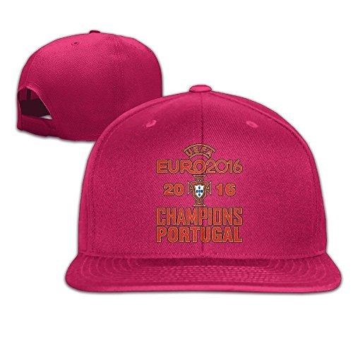 MaNeg Portugal 2016 Soccer Champion Unisex Fashion Cool Adjustable Snapback Baseball Cap Hat One Size - Dior Houston