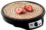 "New House Kitchen Electric Griddle & Crepe Maker Precise Temperature Control 12"" Non-Stick Grill Pan, Includes Batter Spreader & Spatula"