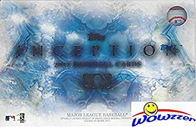2017 Topps Inception Baseball Hobby Box (1 Pack of 7 Cards: 1 Autograph or Autograph Relic or Patch)