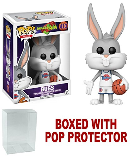Funko POP Movies Space Jam Bugs Bunny with Free Pop (Bug Pop)