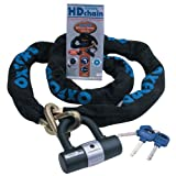 Oxford OF159 'HD Chain' 9.5mm Square Link Chain and Tough Double Locking Padlock Review