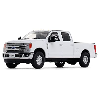 First Gear 1/50 Scale Diecast Collectible Oxford White Ford F-250 Super Duty Pickup (50-3420): Toys & Games