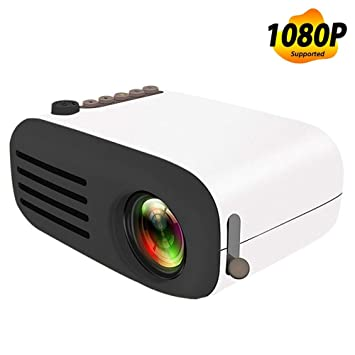 Big Forest Proyector, Mini LED Proyector de Bolsillo Home Beamer ...